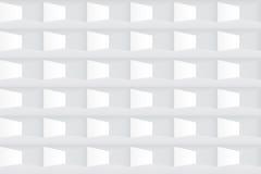 weiße Beschaffenheit Geometrisches Muster der nahtlosen Fliese Stockbilder