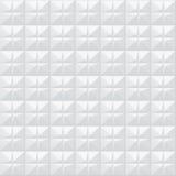 weiße Beschaffenheit Geometrisches Muster - nahtlos Lizenzfreies Stockfoto
