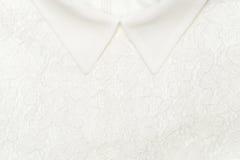 Weiße Beschaffenheit kleidet Hintergrund Lizenzfreies Stockbild