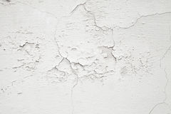 Weiße Betonmauerbeschaffenheit der Nahaufnahme Stockfoto