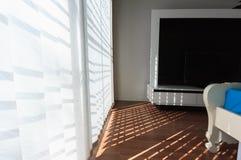 Weiße blinde Beleuchtung im Freien Stockbild