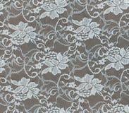 Weiße Blumenspitzebeschaffenheit für Hintergrund Stockbilder
