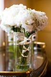 Weiße Blumensträuße Lizenzfreie Stockfotos