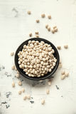 Weiße Bohnen Stockbild