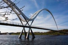 Weiße Brücke Stockfotos
