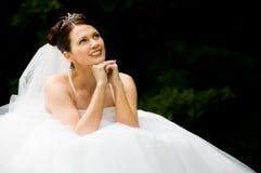 Weiße Braut stockbilder