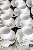 Weiße Cup Lizenzfreie Stockfotos