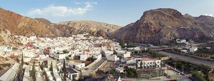 Weiße Dörfer von Andalusien stockbild