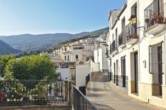 Weiße Dörfer von Andalusien stockfotos