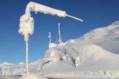 Weiße Durchlauf-Klondike-Landstraße lizenzfreies stockbild