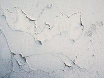 Weiße Farbe auf Wand stockbilder