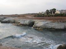 Weiße Felsen Lizenzfreies Stockbild