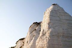 Weiße Felsen bei Vieste, Italien Lizenzfreie Stockfotos