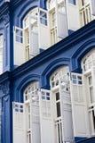 Weiße Fenster Lizenzfreie Stockfotos