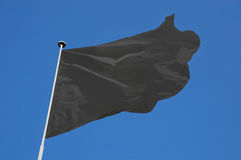 Weiße Flagge stockfotografie