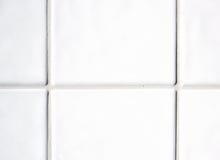 Weiße Fliesen Stockfoto