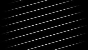 Weiße generative Linien stock footage