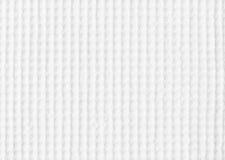 Weiße Gewebebeschaffenheit Lizenzfreie Stockfotos