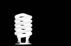 Weiße Glühlampe II stockfoto