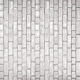 Weiße graue Backsteinmauerbeschaffenheit Stockbild