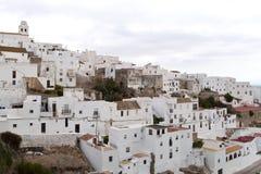 Weiße Häuser Stockbilder