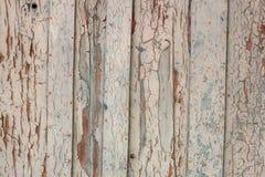 Weiße hölzerne Planken Stockfoto