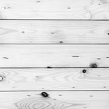 Weiße hölzerne Planken kopieren Beschaffenheit als natürlicher Hintergrund Lizenzfreie Stockbilder