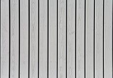 Weiße hölzerne Wandbeschaffenheit Lizenzfreies Stockbild