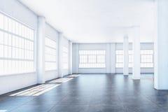 Weiße Halle Stockbild