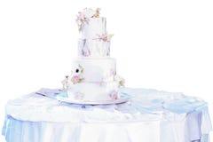 Weiße Hochzeitsschuhe Stockbild