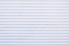 Weiße horizontale Streifen stockbild