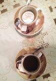 Weiße Kaffeetasse Stockbilder