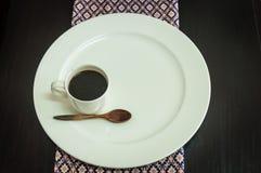 Weiße Kaffeetasse Lizenzfreie Stockbilder