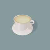 Weiße Kaffeetasse Vektor Abbildung