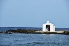 Weiße Kapelle Stockfoto