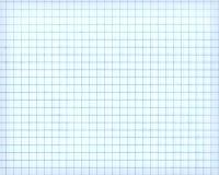 Weiße Karopapierblattbeschaffenheit, Hintergrund Lizenzfreie Stockfotografie