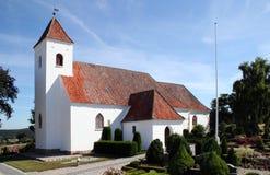 Weiße Kirche Lizenzfreies Stockfoto