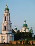 Weiße Kirche Stockfotos