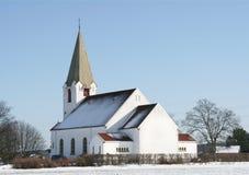 Weiße Kirche lizenzfreie stockfotos