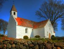 Weiße Kirche Lizenzfreie Stockfotografie