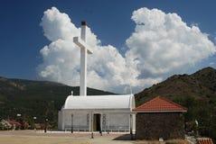 Weiße Kirche Stockfotografie