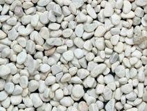 Weiße kleine Steine Lizenzfreie Stockfotografie