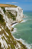 Weiße Klippen von Dover Stockbild