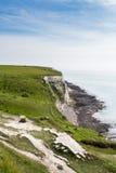 Weiße Klippen von Dover Stockfotos