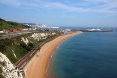 Weiße Klippen von Dover Lizenzfreies Stockfoto