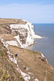 Weiße Klippen von Dover Lizenzfreies Stockbild