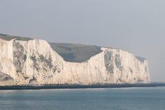 Weiße Klippen von Dover Stockfotografie