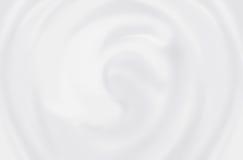 Weiße kosmetische Creme Lizenzfreies Stockfoto