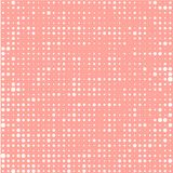 Weiße Kreise auf teracotta Hintergrund vektor abbildung