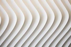 Weiße Kurvenbeschaffenheit mit Schatten und Schatten Lizenzfreie Stockbilder
